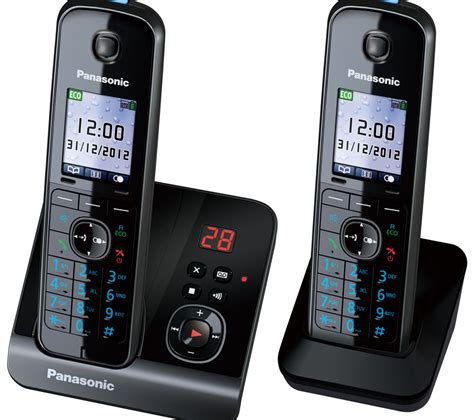 panasonic kx tg8162eb cordless phone with answering