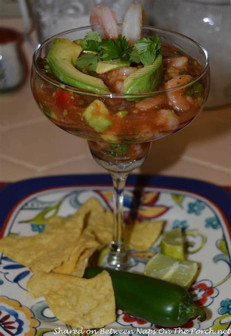 Mexican Shrimp Cocktail, Perfect For A Party