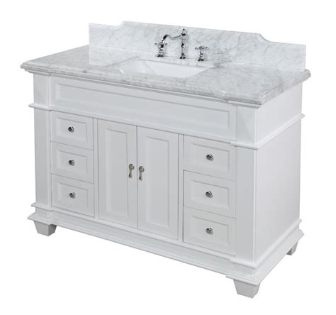 48 quot white bathroom vanity a detailed review reborn homes