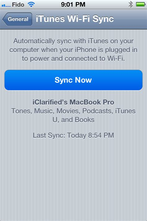 sync iphone wifi itip ว ธ การ sync iphone or ipod touch ผ าน wifi 1418