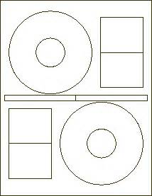 Stomper cd labels format 464 cd dvd label 2 per sheet for Cd stomper template
