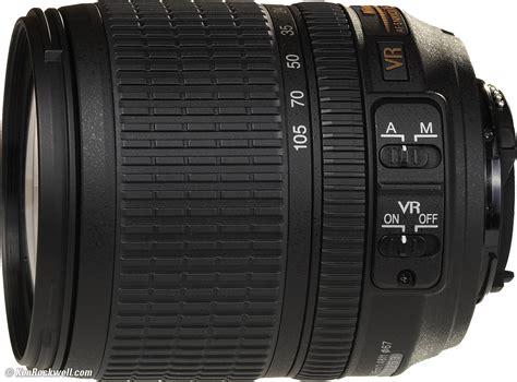 best 18 105 lens for nikon nikon 18 105mm vr