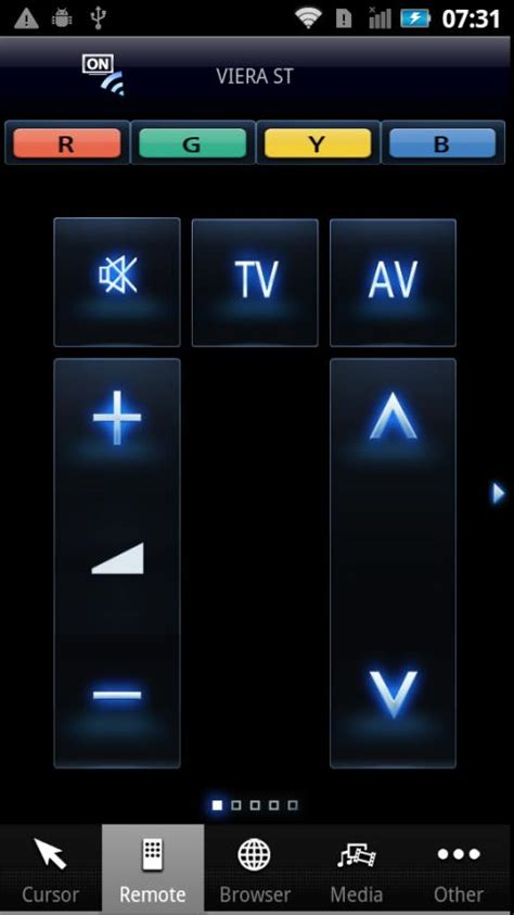 tv remote app for android panasonic tv remote android apps on play
