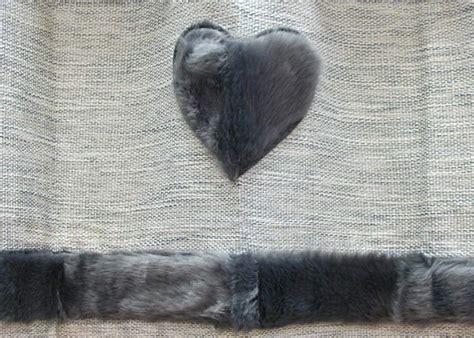rideau esquimaux gris chine avec fausse fourrure