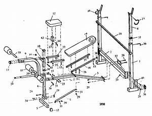 Gold U0026 39 S Gym G4360 Weight System Parts