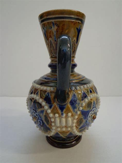 antiques atlas doulton lambeth twin handled vase