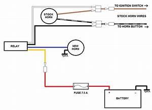 12v Horn Wiring Diagram 25011 Ilsolitariothemovie It