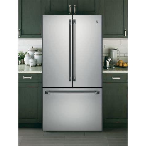ge door refrigerator cwe23sshss ge cafe series 23 1 cu ft counter depth