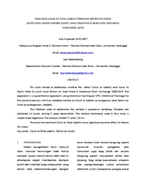 (PDF) Jurnal Sukuk | ana nurjanah - Academia.edu
