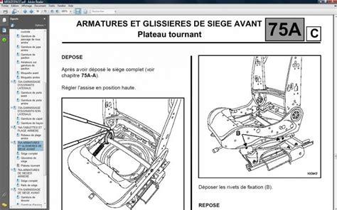 siege avant espace 3 espace 4 sieges pivotant espace renault forum marques