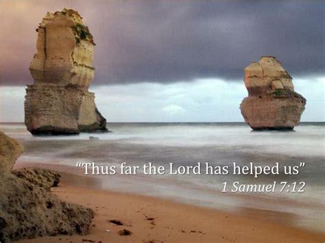 lord  helped   samuel