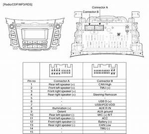 2009 Hyundai Accent Radio Wiring Diagram