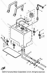 Yamaha Boat 1996 Oem Parts Diagram For Oil Tank