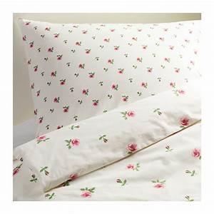 Ikea Bettwäsche 140x200 : ikea rosen bettw sche emelina 2 teilig 140x200 neu ovp ebay ~ Orissabook.com Haus und Dekorationen