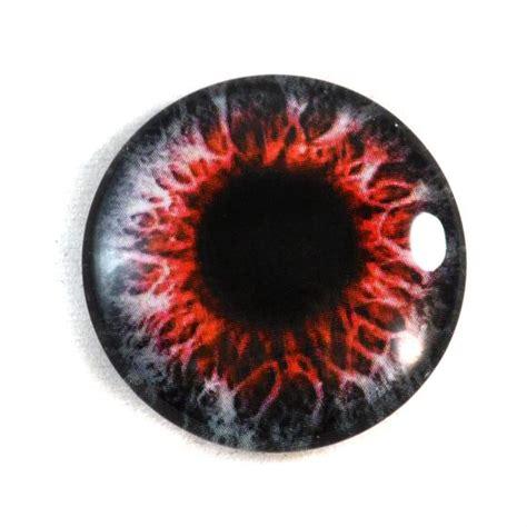demon eye eyes glass pupil eyeball circle fantasy 25mm cabochon jewelry horror pendant making taxidermy flatback doll