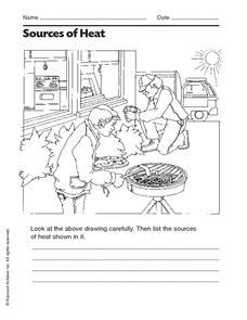 Sources Of Heat Worksheet  Mam Jasmin  Pinterest  Worksheets, Thermal Energy And Student Studying