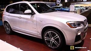 Bmw X3 Sport Design : 2016 bmw x3 xdrive 35i m sport exterior and interior walkaround 2016 chicago auto show youtube ~ Medecine-chirurgie-esthetiques.com Avis de Voitures