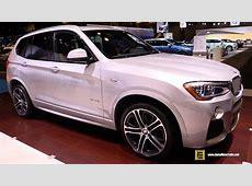 2016 BMW X3 xDrive 35i M Sport Exterior and Interior