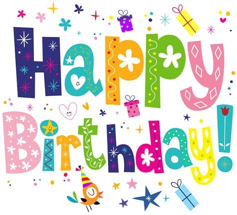 Happy Birthday Clipart Transparent Clipartxtras