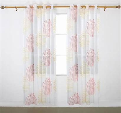 Curtains Grommet Deconovo Circular Inch Pattern Panel