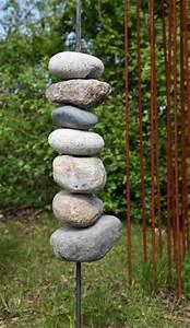 Skulpturen Für Garten : skulptur aus feldsteinen und stahl ~ Watch28wear.com Haus und Dekorationen