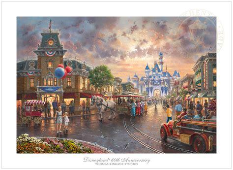 Thomas Kinkade Disneyland® 60th Anniversary