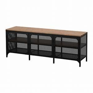 FJLLBO Banc TV Noir 150 X 36 X 54 Cm IKEA