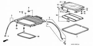U0026 39 91 Honda Civic Hb Sunroof Parts