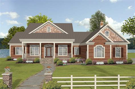 Dramatic Country House Plan  20100ga  1st Floor Master
