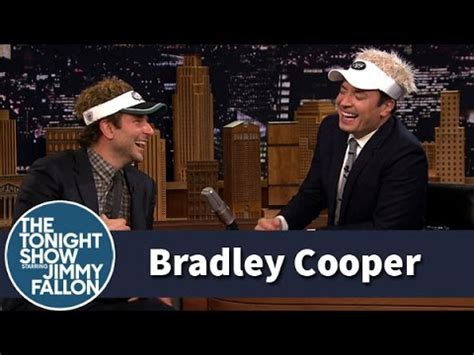 Bradley Cooper And Jimmy Can't Stop Laughing (uncut