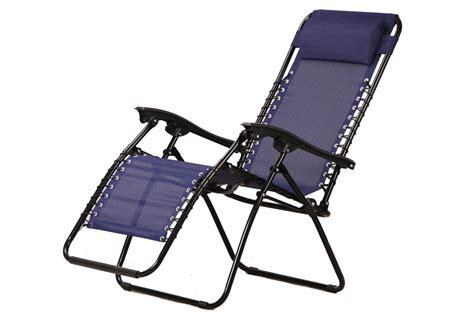 vinsani textoline gravity reclining garden chairs in