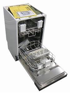 Kleine spulmaschine 45 cm breit teilintegriert neu ebay for Kleine spülmaschine