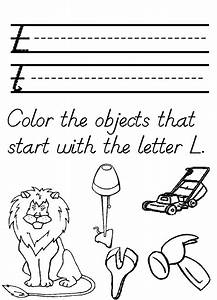 Letter L Coloring Pages Coloring Home