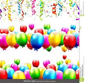Birthday Vector Borders