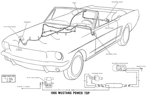 66 Mustang Wiring Diagram by Help 1966 Convertible Top Switch Not Working Ford