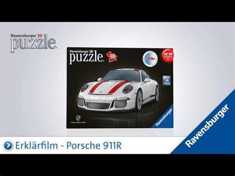 3d puzzle porsche ravensburger 3d puzzle porsche 911r