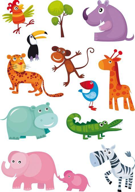 Vinilos folies : Kit Vinilo decorativo infantil 11 animales