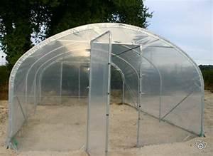 Serre Tunnel De Jardin : serre tunnel de jardin izella 4m x 10m pieds droits ~ Melissatoandfro.com Idées de Décoration