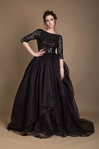 Robe De Mariée Noire : robe de mariee noire ~ Dallasstarsshop.com Idées de Décoration