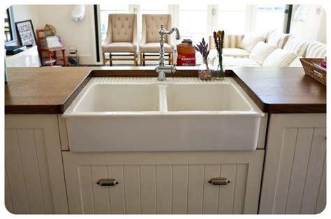 undermounting ikeas farmhouse sink kitchen ikea