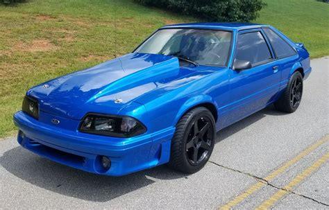 Blue Mustang Lx 5.0 Hatchback
