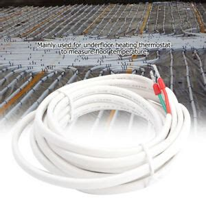 3 meters underfloor heating thermostat accessory floor temperature sensor probe ebay