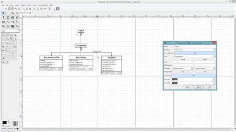 Diagram Of To by How To Create A Uml Diagram Using Dia Diagram Editor