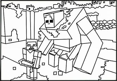 Drawing Minecraft Remarkable Coloring Pages Sheets Drawings