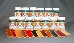 Teinture Pour Cuir Canapé : teinture leather dyes cuir lot de 8 couleurs ~ Premium-room.com Idées de Décoration