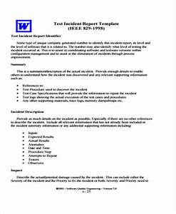 cute test procedure specification template photos resume With testing procedures template