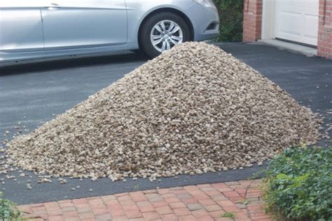 how much gravel is in a yard home improvement