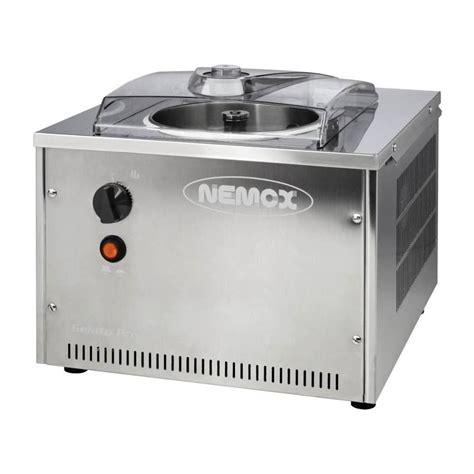armoires a vin turbine a glace nemox gelato pro 4k