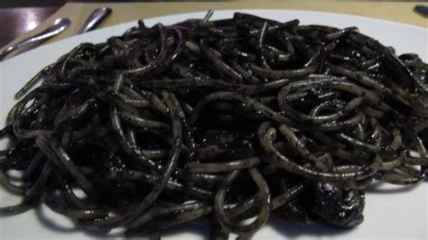 spaghetti nero spaghetti al nero di seppia antica trattoria la paglia catania