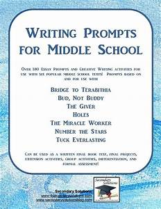 middle school writing samples